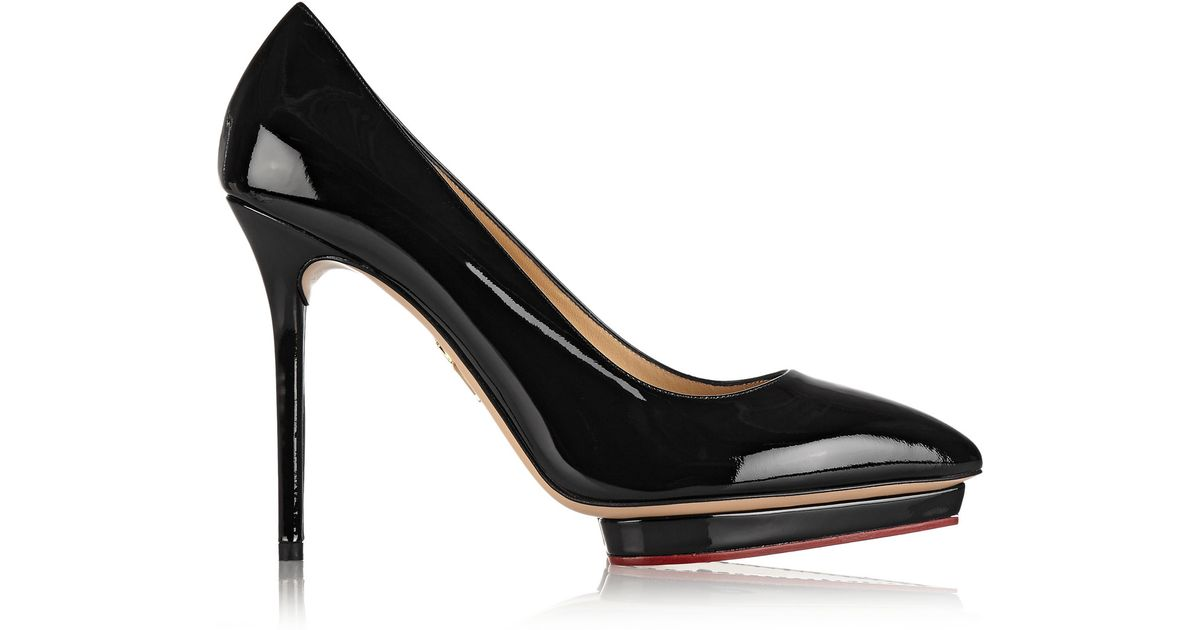 Charlotte Olympia Leather Pumps rGSBRO