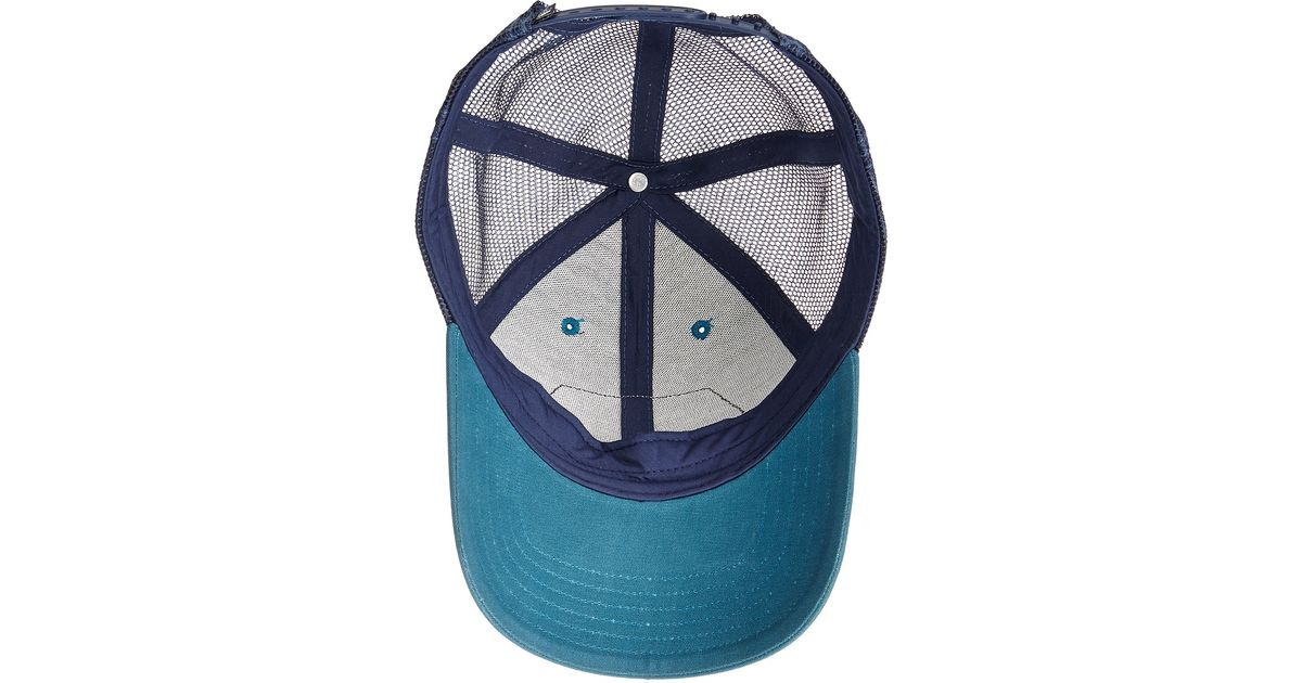 70be5b31da2e3 The North Face Patches Trucker Hat in Blue for Men - Lyst