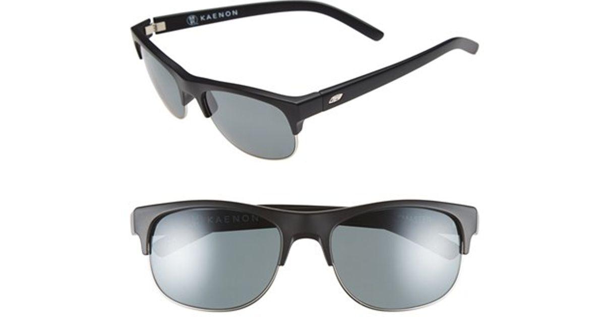 19059efb438 Lyst - Kaenon  bluesmaster  55mm Polarized Sunglasses in Black for Men
