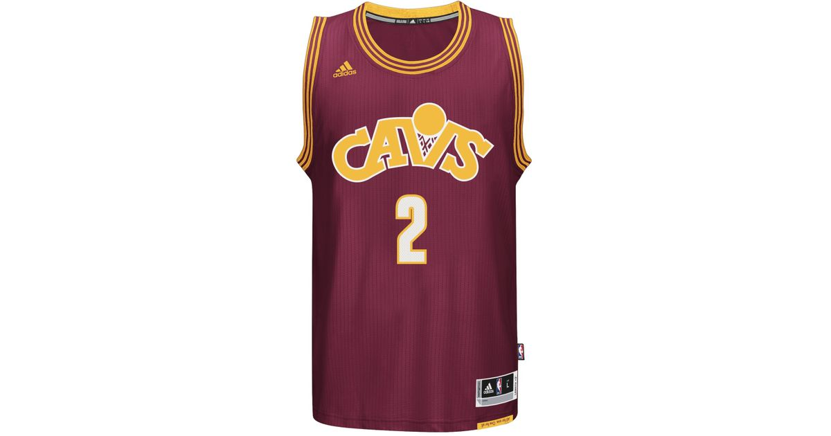 868e81089 Lyst - adidas Men s Kyrie Irving Cleveland Cavaliers New Swingman Jersey in  Purple for Men