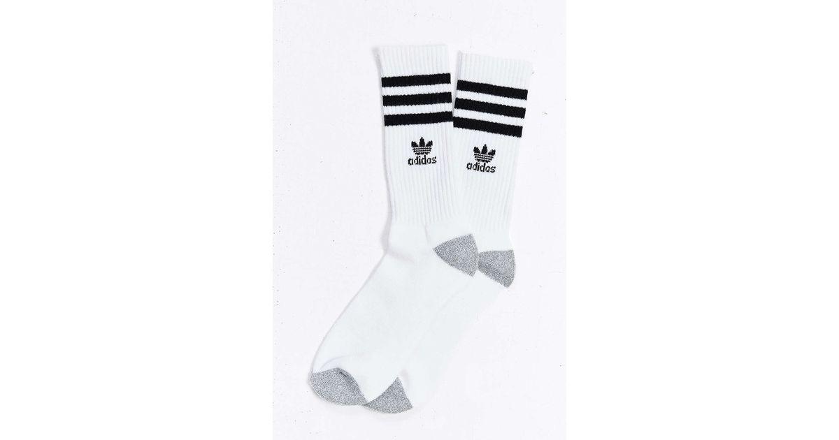 e1804e2f7 adidas Originals Originals Roller Crew Sock in White for Men - Lyst