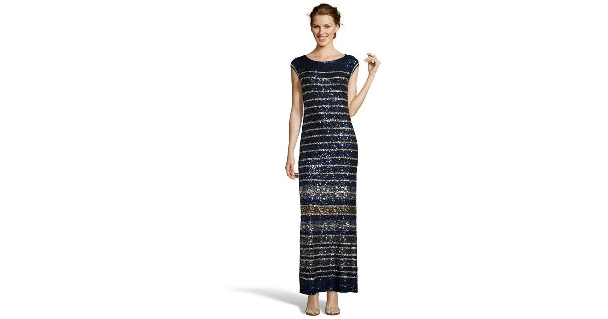 Lyst - Calypso St. Barth Navy Sequined Jersey Knit \'francena ...