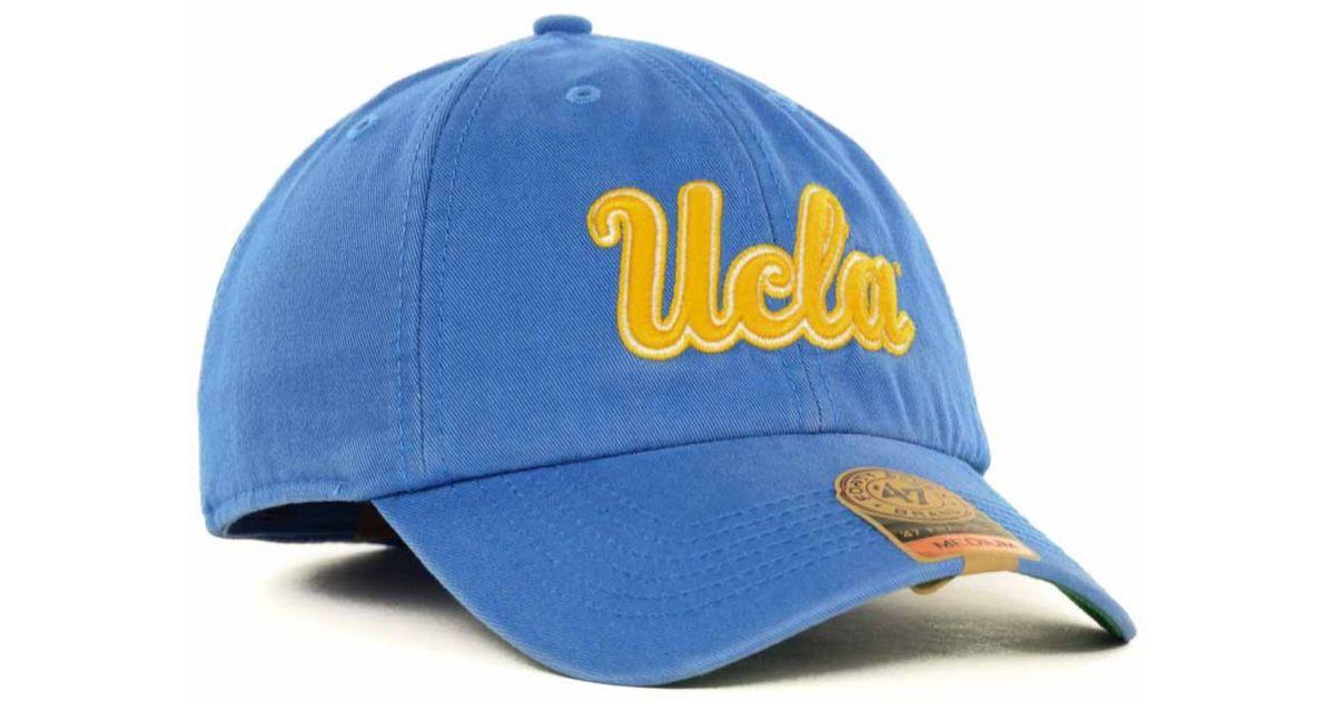 82de741f23995 ... australia lyst 47 brand ucla bruins franchise cap in blue for men 8d139  1775a