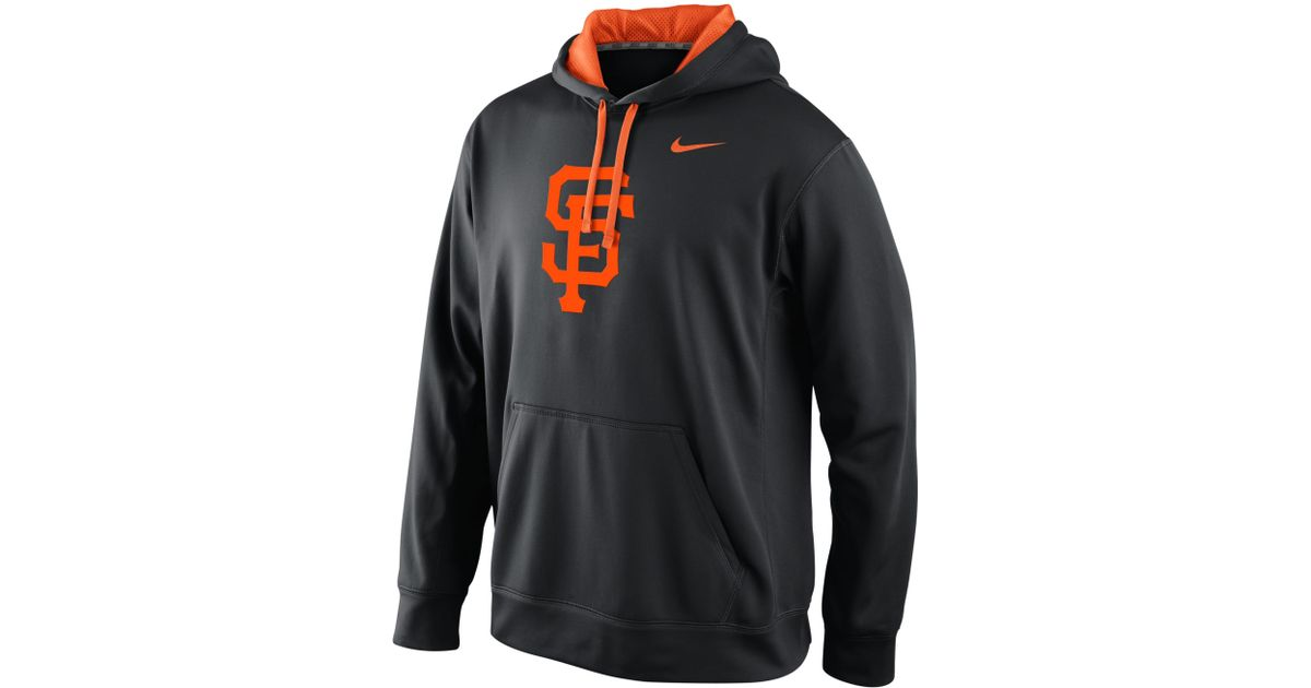 reputable site e1076 7aaa6 Nike - Gray Knock Out Thermafit San Francisco Giants Hoodie for Men - Lyst