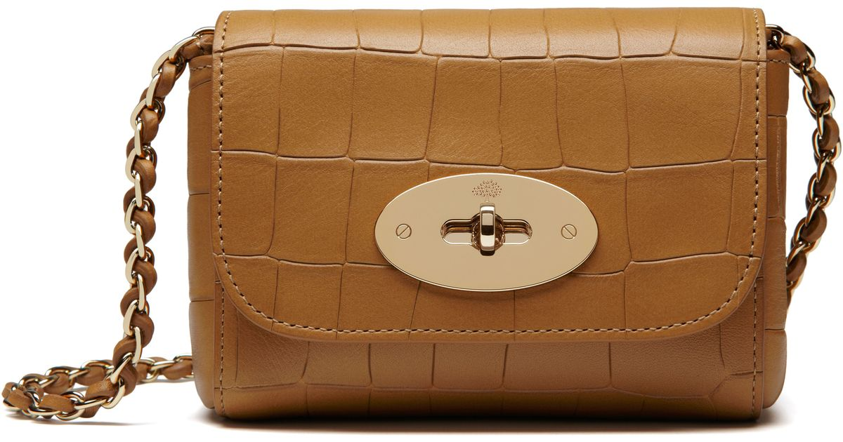 a60ec285dc6e Lyst - Mulberry Mini Lily Shoulder Bag in Brown