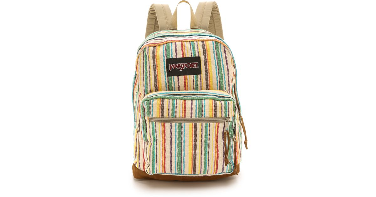 f7e2b70b69 Lyst - Jansport Right Pack Expressions Backpack - Multi Weave Stripe