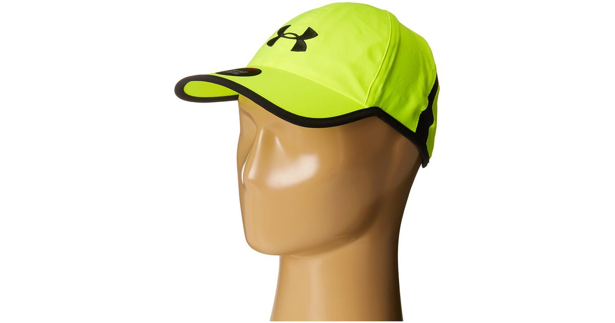 premium selection f18cb f25a0 reduced lyst under armour ua shadow cap 2.0 in yellow for men 9bae3 e38fa