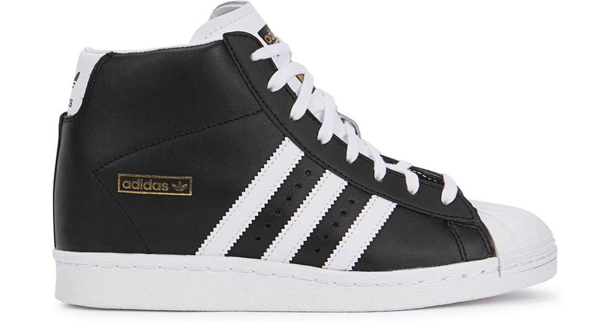 topschoenen Monochrome Originals Superstar Wedge Adidas Hi Lyst Black In SwAP67qU