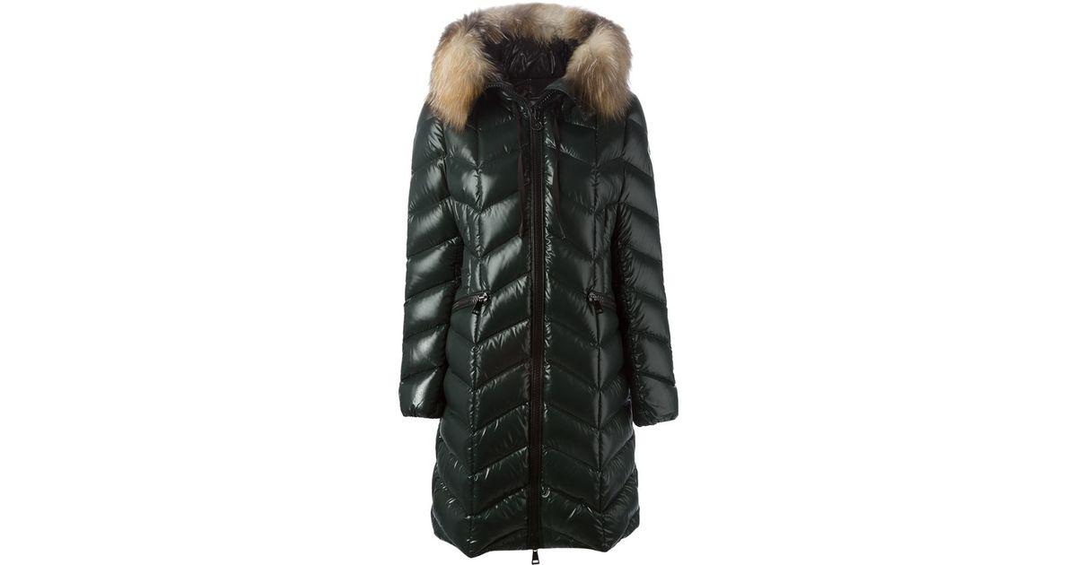 451a97761 moncler fabrefur coat black