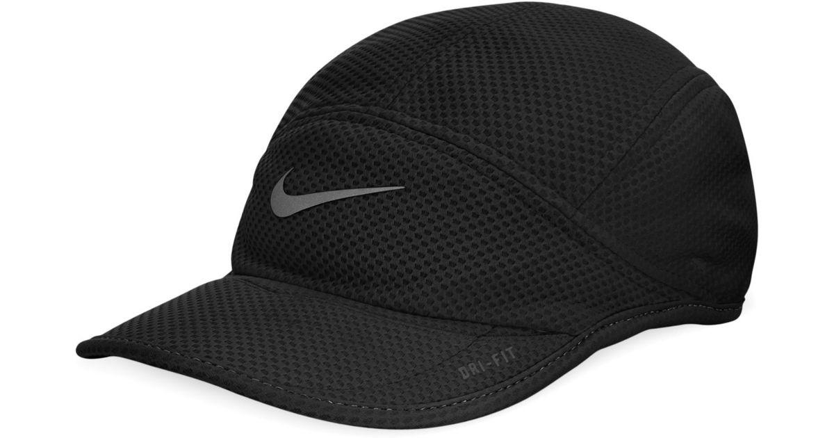 6d169693476 ... inexpensive lyst nike daybreak mesh cap in black for men 96dc1 cd1f3