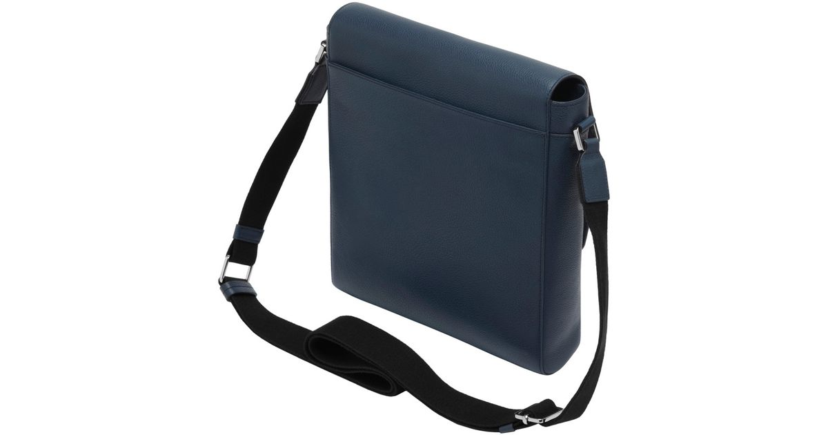 ff00f9159fd Mulberry Maxwell Slim Messenger in Blue for Men - Lyst