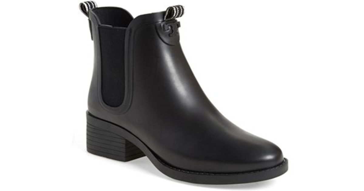 db19870e38c3 Lyst - Tory Burch Chelsea Rain Boot in Black