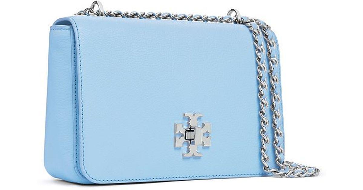 2db396041f4d Tory Burch Mercer Adjustable Shoulder Bag in Blue - Lyst