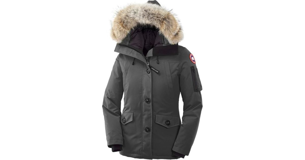 Canada Goose mens outlet official - Canada goose 'Montebello' Slim Fit Down Parka With Genuine Coyote ...