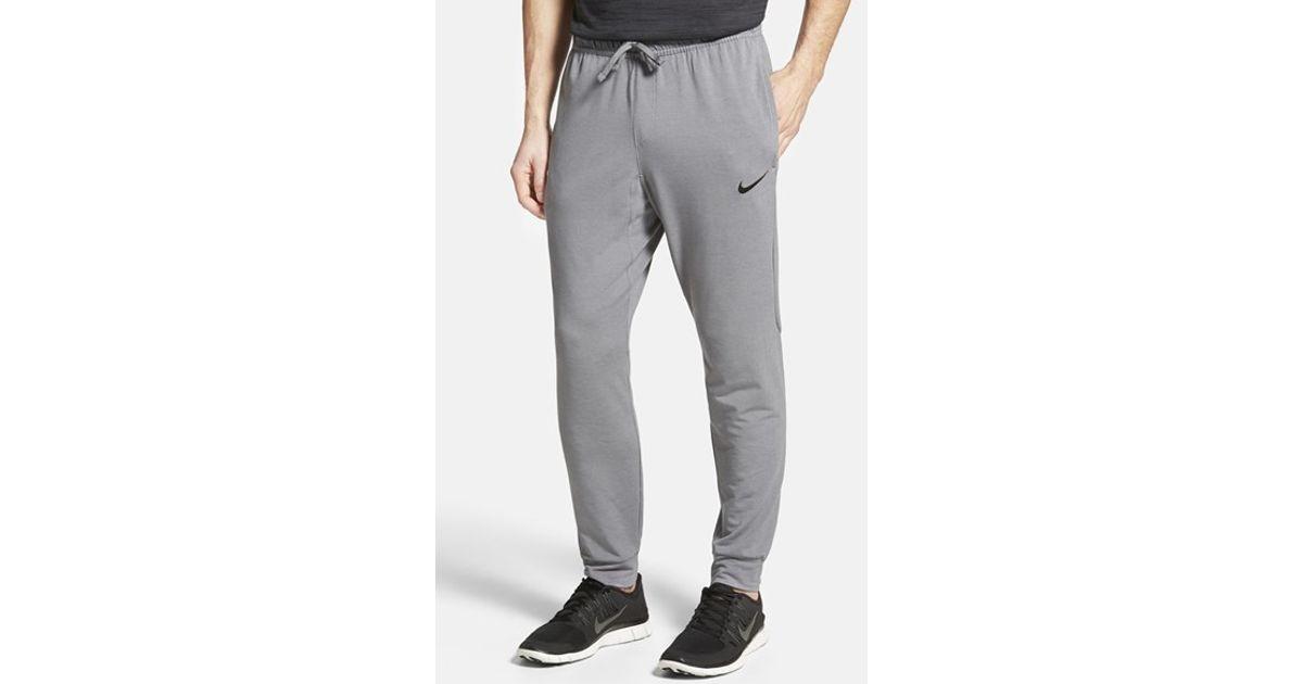 169d28df06c2 Lyst - Nike Dri-fit Touch Fleece Sweatpants in Gray for Men
