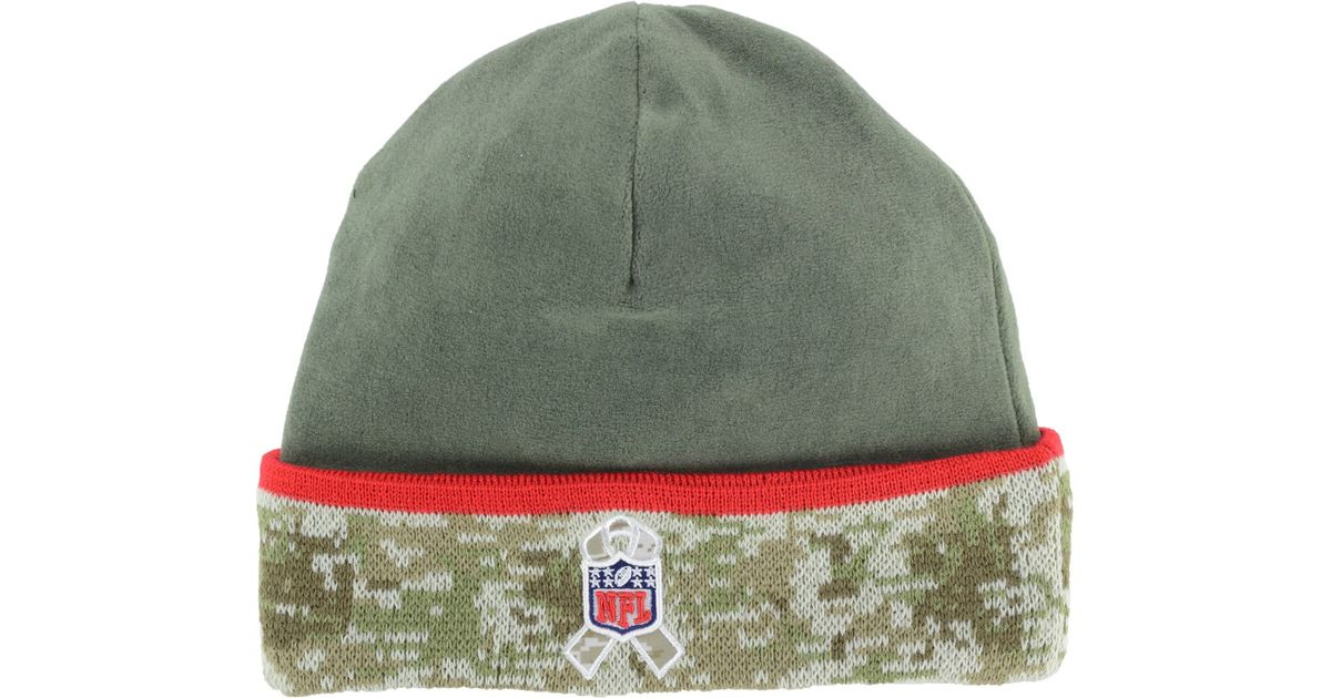 Lyst - Ktz Tampa Bay Buccaneers Salute To Service Knit Hat in Green for Men 6961265d634