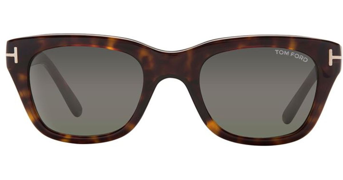tom ford snowdon sunglasses in brown for men lyst. Black Bedroom Furniture Sets. Home Design Ideas