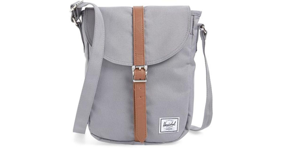 e13e90125cf8 Lyst - Herschel Supply Co. Kingsgate Cross-Body Bag in Gray