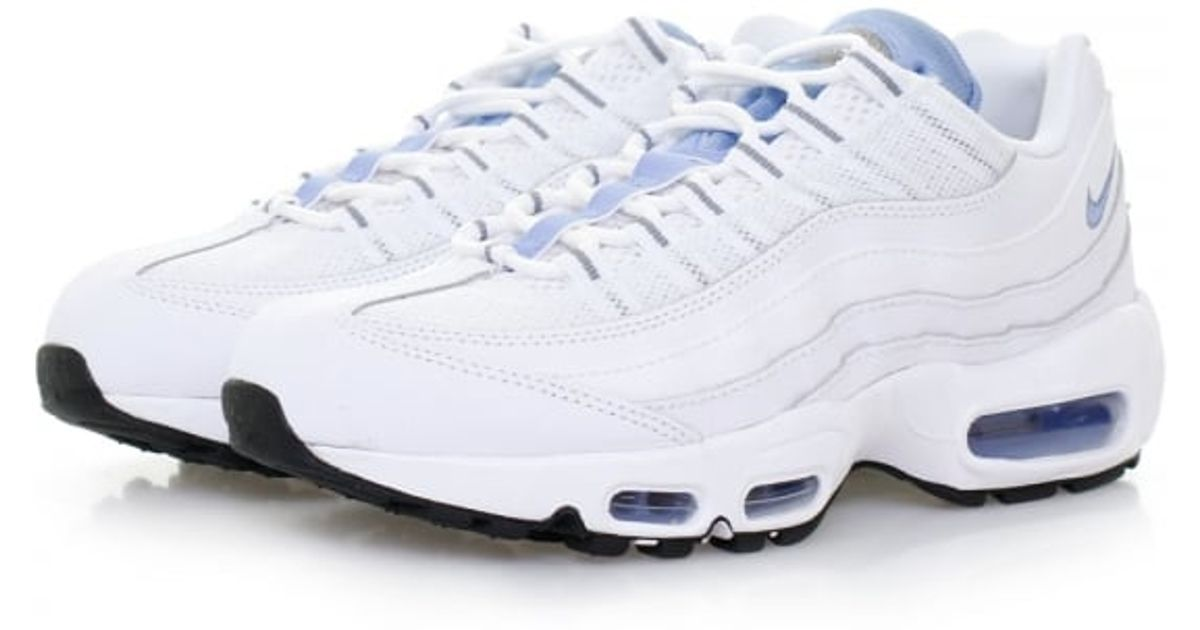 huge discount 97254 8563c Nike Air Max 95 Essential White Chalk Blue Shoes 749766 100 in White - Lyst