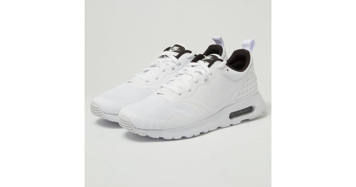f1ac7d4472 Lyst - Nike Air Max Tavas - White in White for Men