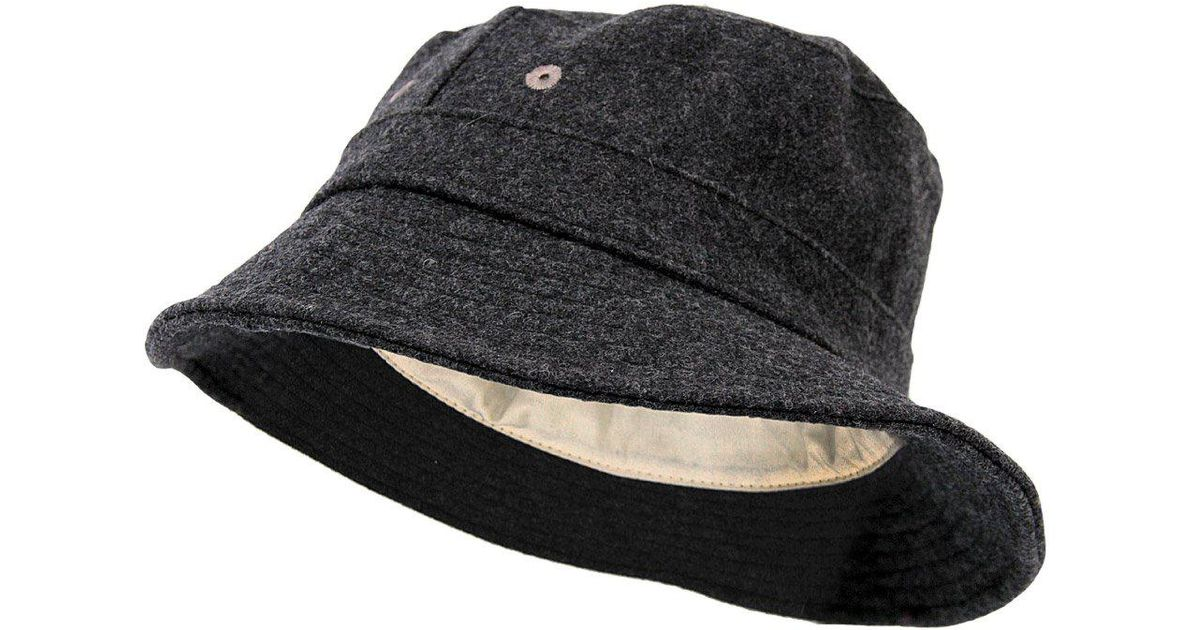 a4443d1f1b2 Universal Works Wool Ny Bucket Hat 11812 for Men - Lyst