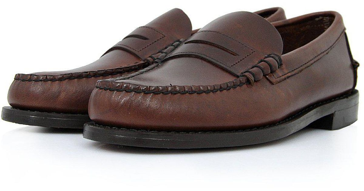 63c137b526 Lyst - Sebago Classic Beef-Roll Penny Moc Brown Shoes B76643 in Brown for  Men
