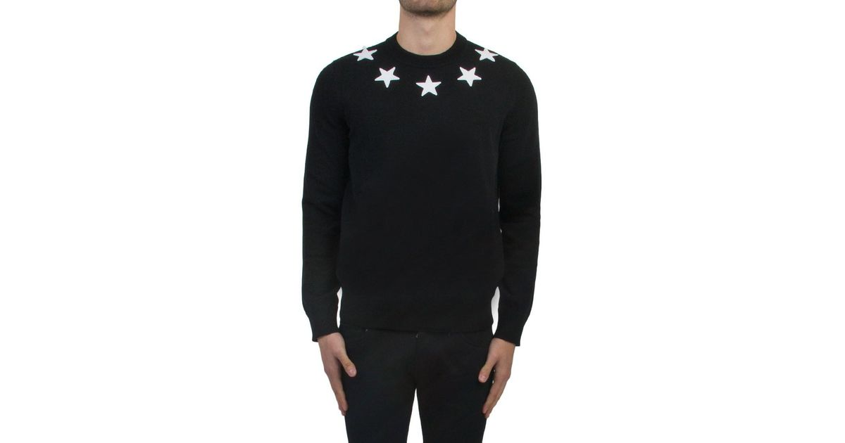 f742b032abd2 Givenchy Sweater With Stars