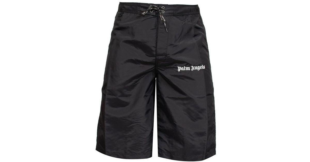 270c3ffb72 Palm Angels 'sundek Iconic' Swim Shorts in Black for Men - Lyst