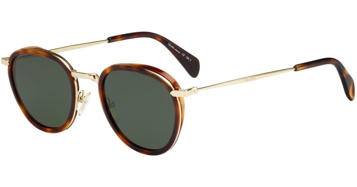 724ed8aa4a88 Céline Cora Sunglasses - Lyst