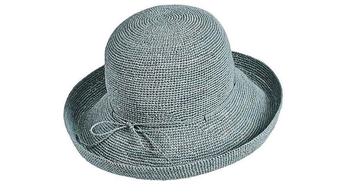 bcedadc4a120d Helen Kaminski Rollable Raffia Crochet - Save 45% - Lyst