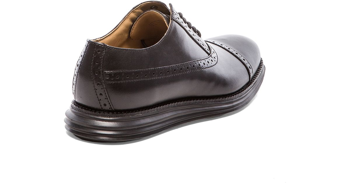 b81d3689a10127 ... brown leather cap toe oxford shoes mens size 9 5d made · air madison cap  oxford by cole haan · cole ...