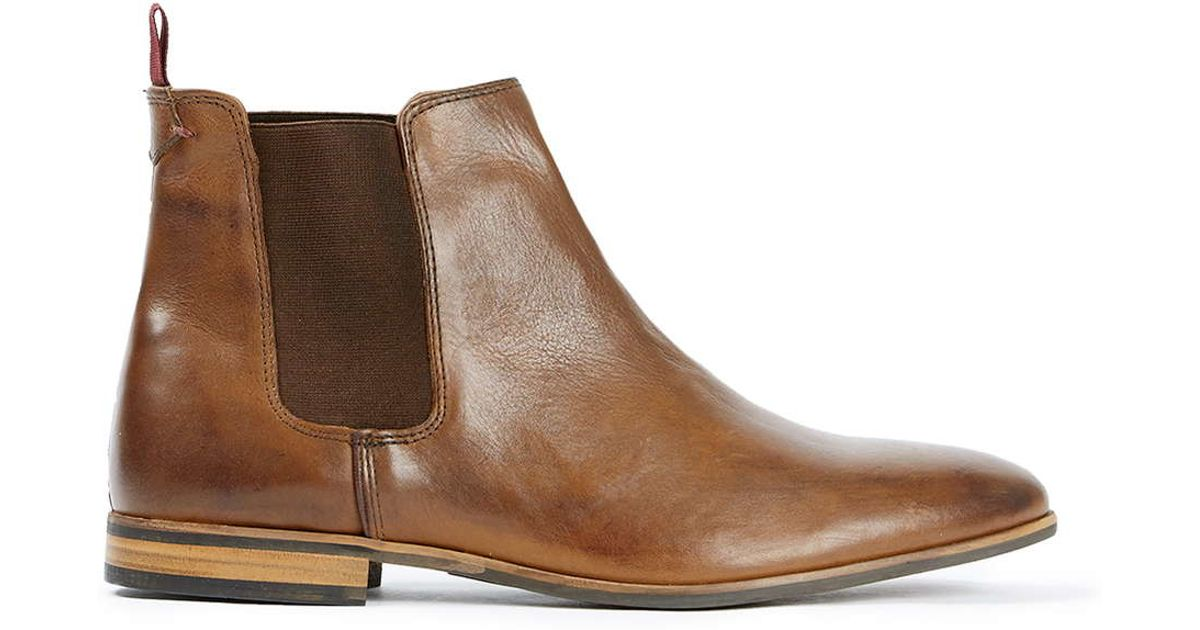 Blundstone Original Rustic Brown Casual Leather Dress Boots Series. £ Prime. out of 5 stars 3. Mustang Men's Chelsea Boots. £ - £ Prime. Frank James Chepstow Mens Brogue Chelsea Dealer Boots Tan Bordo Cleated Sole. £ £ Prime. 5 out of 5 stars 1. Hush Puppies Mens Courtland 3 Chelsea Boots. £