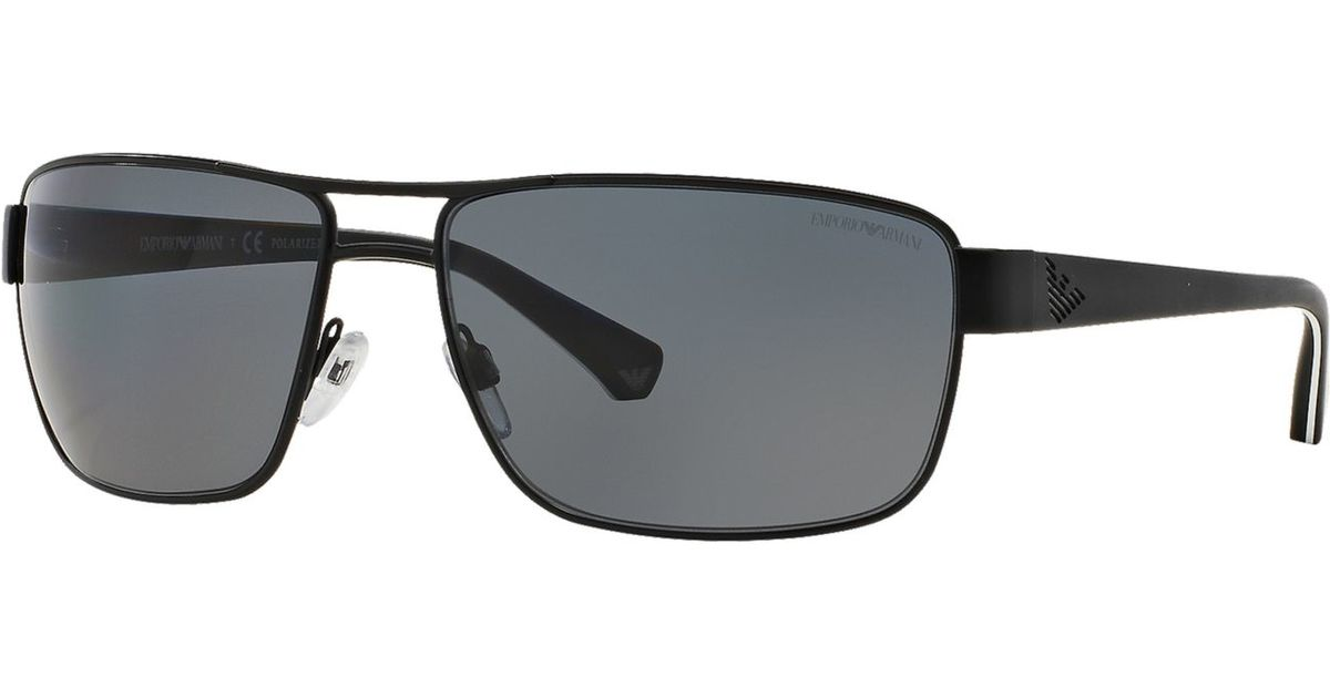 18c2d6e556d9 Lyst - Emporio Armani Emporio Ea2031 62 in Black for Men