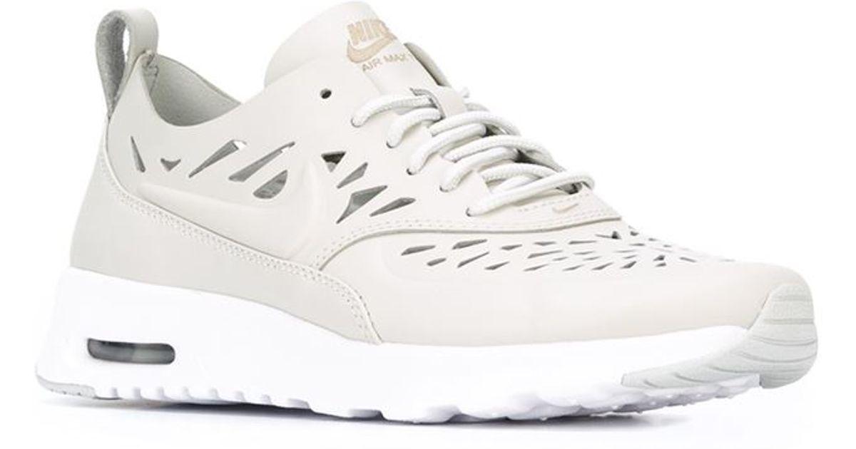 lyst nike air max thea joli sneakers in natural