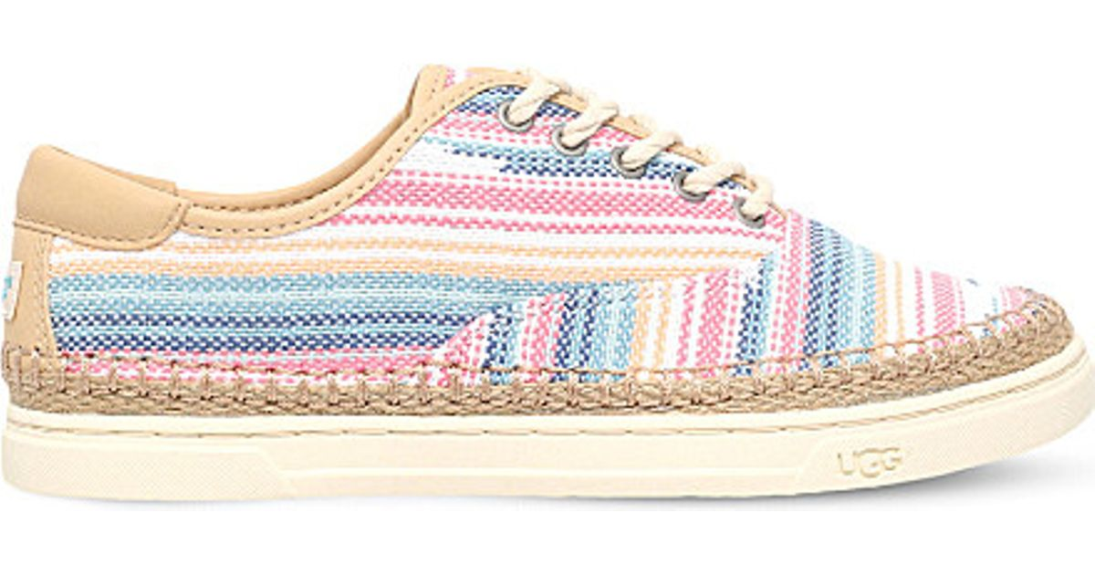 32026846a20 UGG - Multicolor Eyan Ii Canvas And Leather Trainers - Lyst