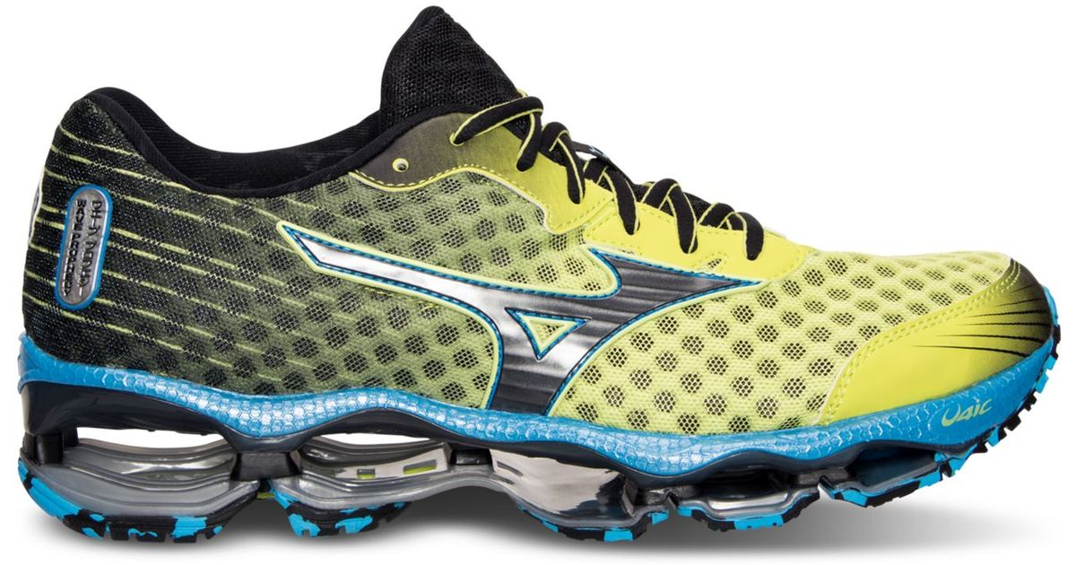 c36f52d343ed Mizuno Men's Wave Prophecy 4 Running Sneakers From Finish Line in Yellow for  Men - Lyst