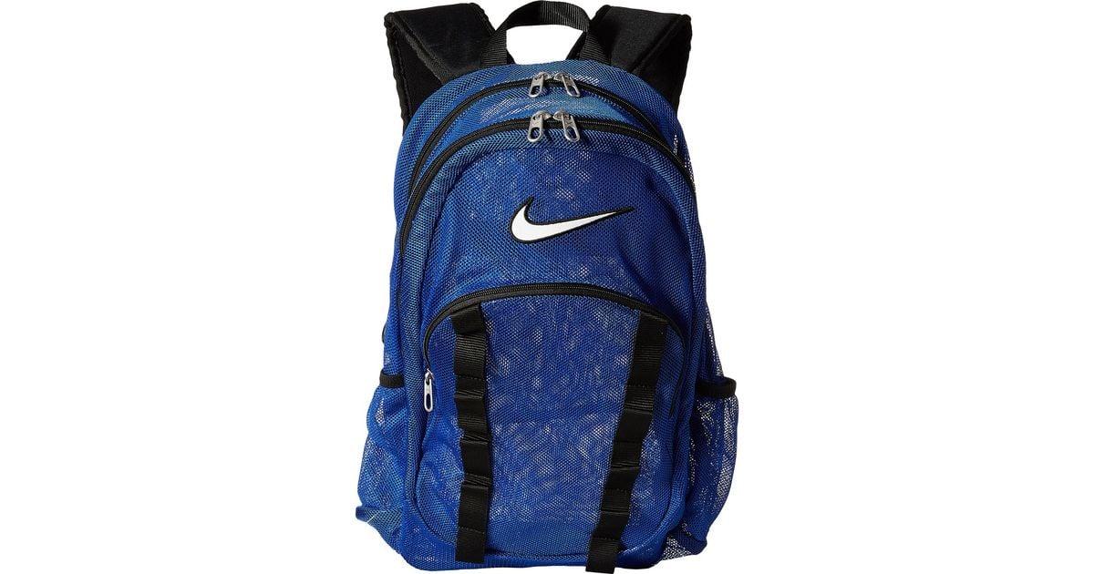 Lyst - Nike Brasilia 7 Backpack Mesh Large in Blue
