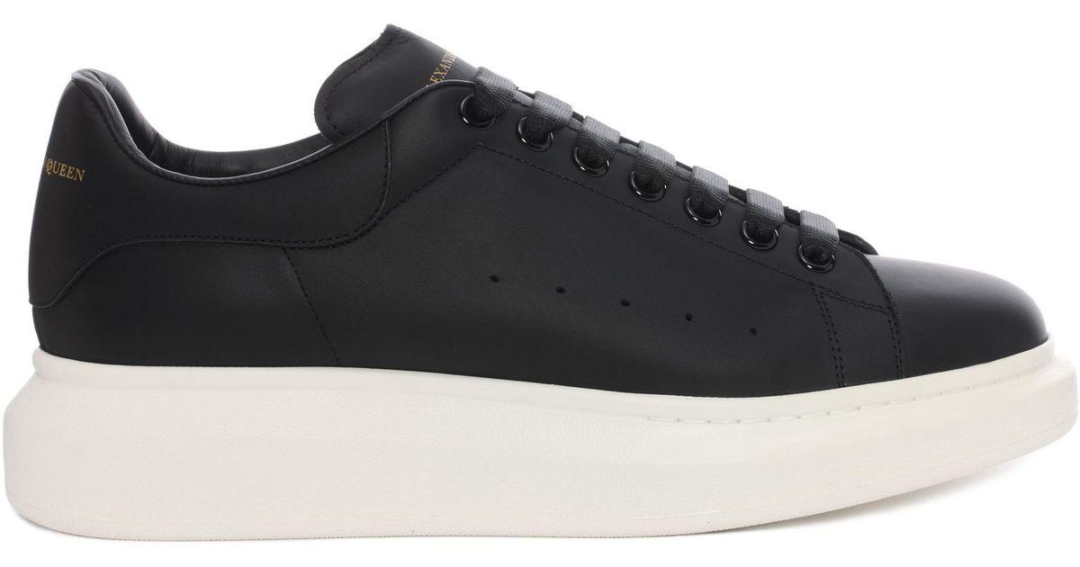 Alexander Mcqueen Oversized Sneaker In Black For Men Lyst