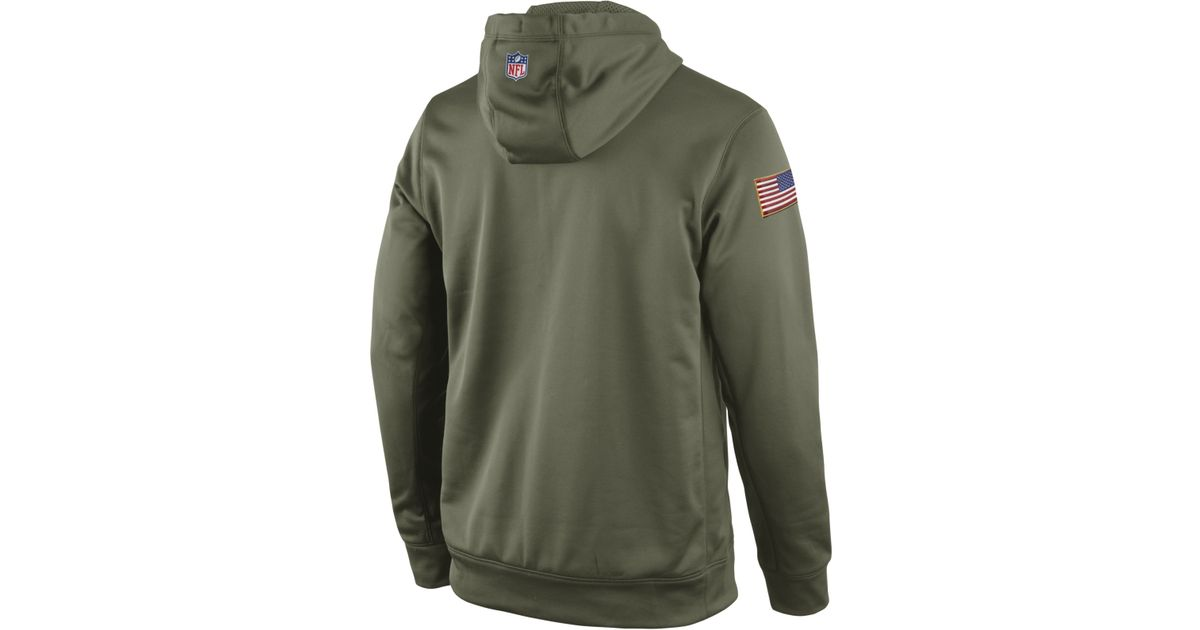 37e45616c0d99 ... shopping super popular 11c34 9cb37 lyst nike mens san francisco 49ers  salute to service ko hoodie low price dallas cowboys ...