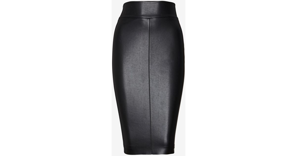 1b55e4a723 Bailey 44 Exclusive Leather Like Pencil Skirt in Black - Lyst