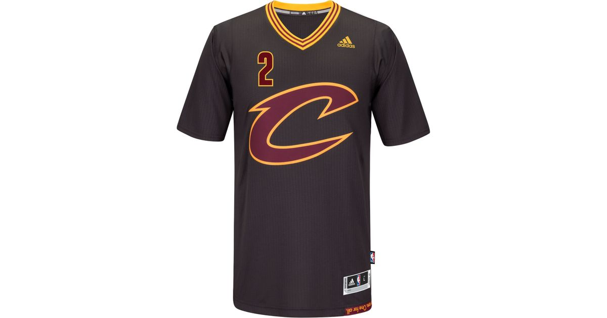 6bae9e58e49 ... cleveland cavaliers new swingman jersey in black for men free shipping  outerstuff kyrie irving boston celtics youth green name and number player t  shirt ...