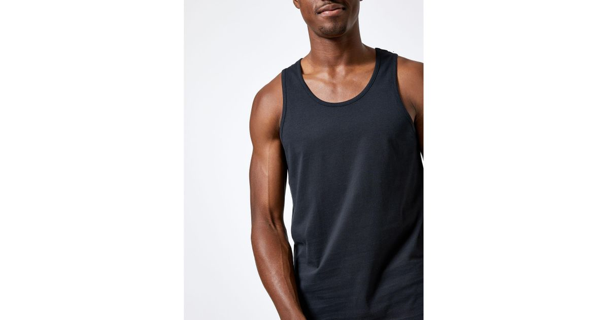 6c6464841696dd Burton Black Basic Vest in Black for Men - Lyst