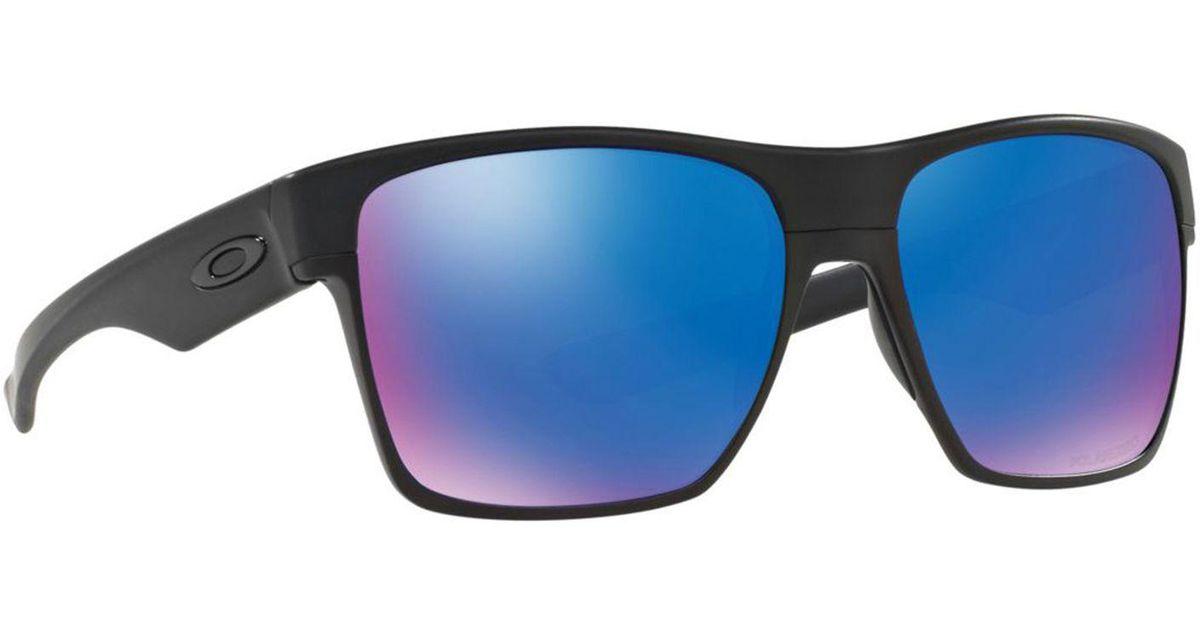 06de9f5fa6f Oakley Matte Black  twoface Xl  Oo9350 Square Sunglasses in Black for Men -  Lyst