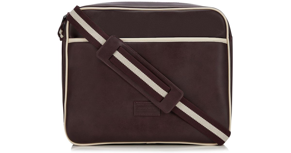 69c7fdcbdcf1 Red Herring Wine Red Dispatch Bag for Men - Lyst
