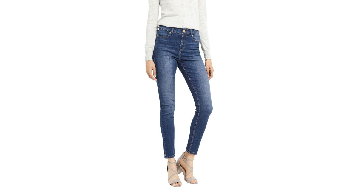 3ef33e1160be3c Oasis New Rinse Wash Lily Jeans in Blue - Lyst