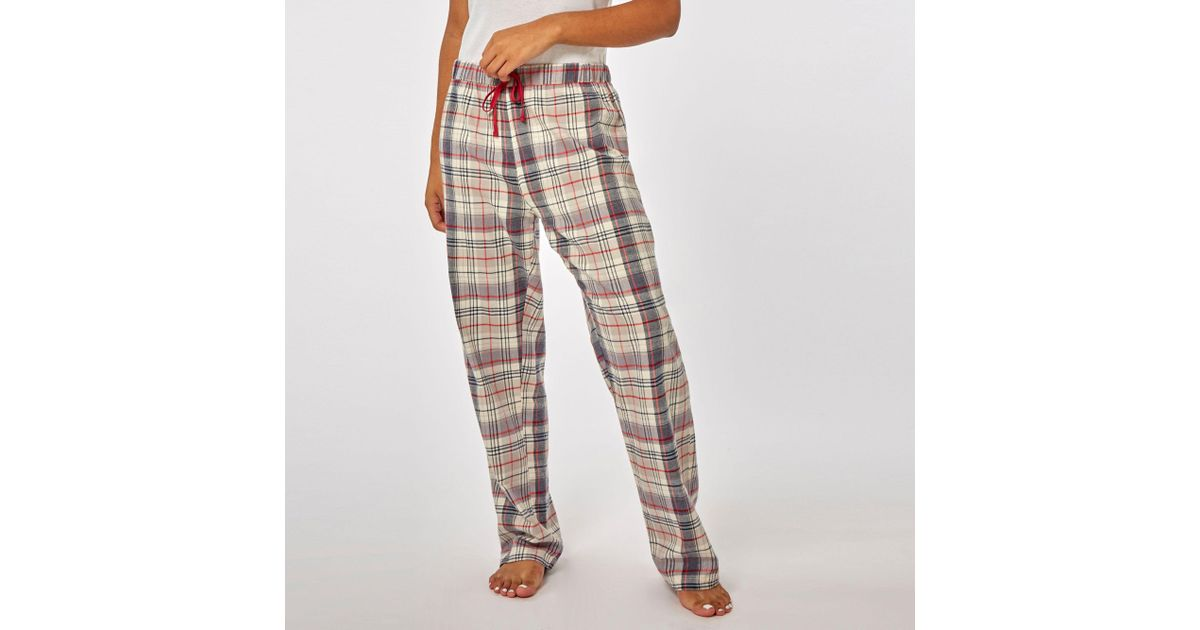 ae23438a8a Dorothy Perkins Oatmeal Merry Xmoose Pyjama Set in Gray - Lyst