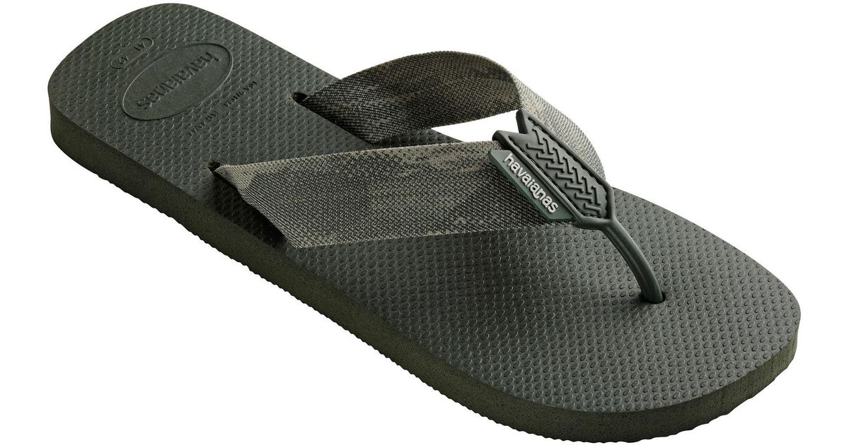 7af9c7e8e7eb Havaianas Green Urban Series Flip Flops in Green for Men - Lyst