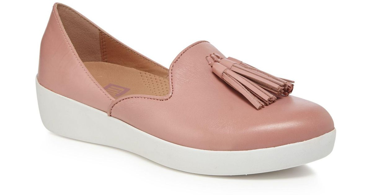 eadbc944b1d57f Fitflop Tassel Superskate D orsay Loafers in Pink - Save 71% - Lyst