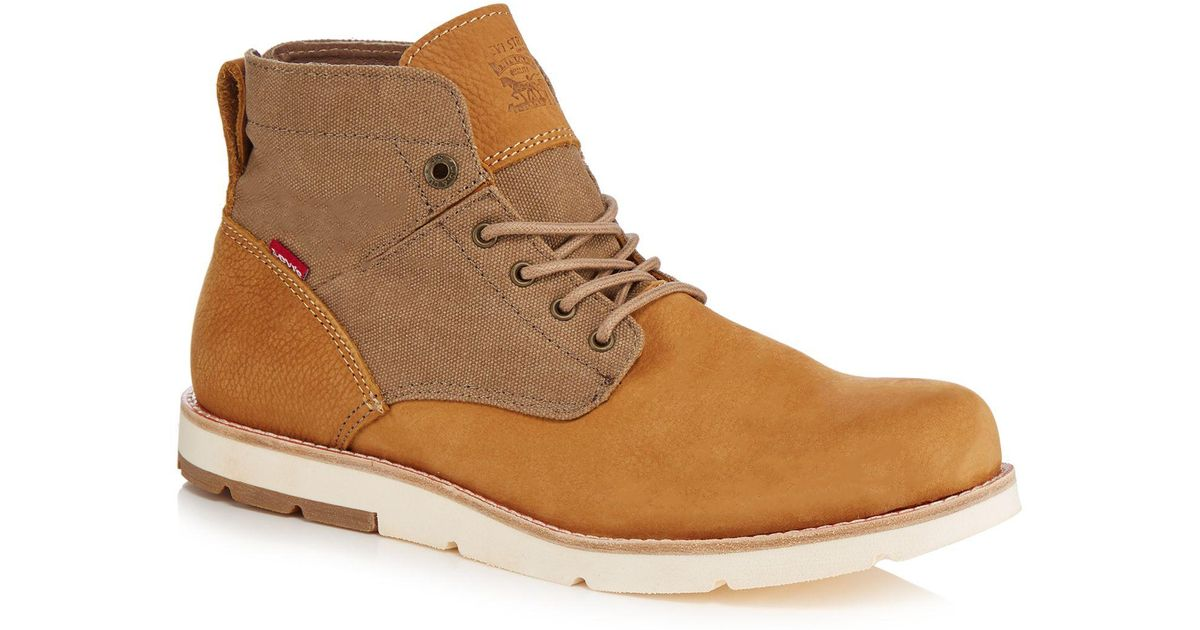 Light brown nubuck 'Jax' chukka boots extremely cheap online sale very cheap 2014 sale online 4Uvi67AuU