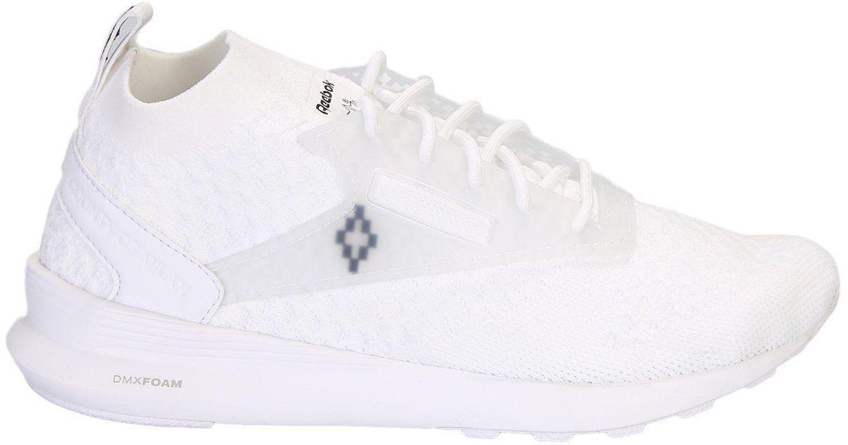 White Reebok Classic Edition Zoku Runner Utlk Sneakers Marcelo Burlon 6QBD3zES